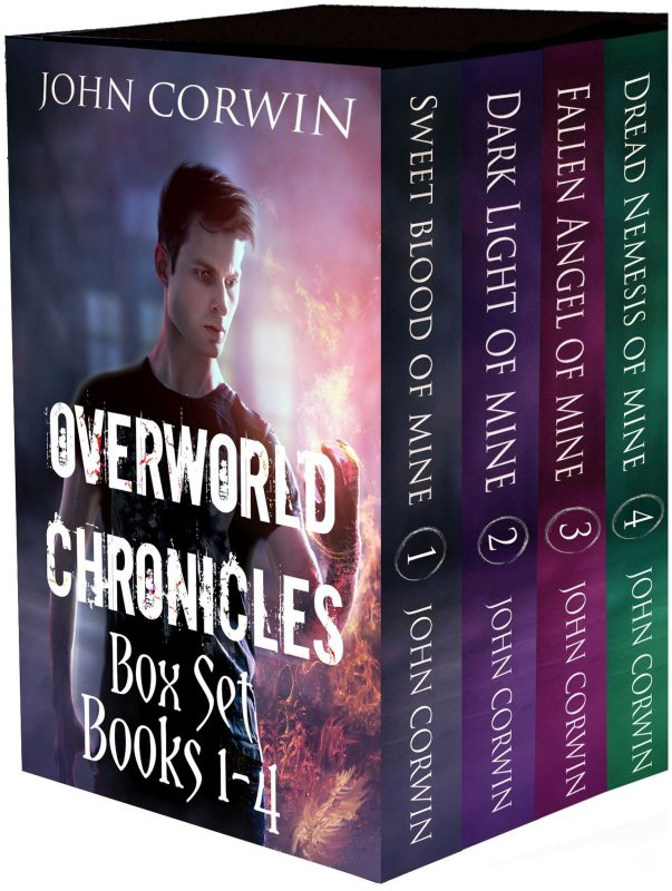 Overworld Chronicles Box Set Books 1-4